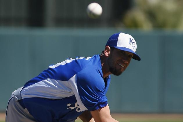 Royals Announce Shields Will Start Opening Day