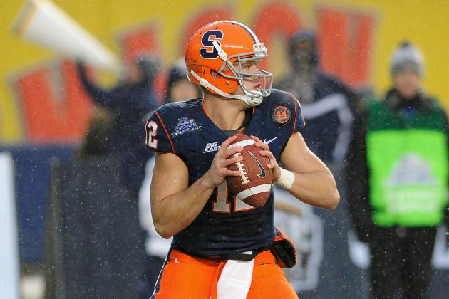 With Ryan Nassib's Stock Rising, Is He a Lock to the Bills at No. 8 Overall?