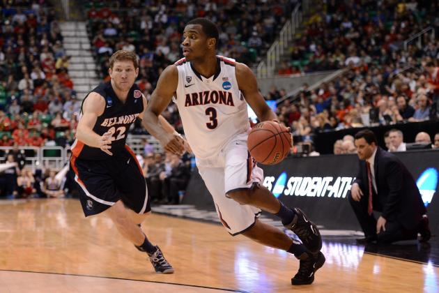 No. 6 Arizona 81, No. 11 Belmont 64