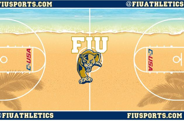 FIU's New Court Design Is Bright and Audacious, but No Day at the Beach