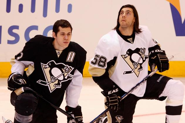 Letang, Malkin Both out vs. Isles