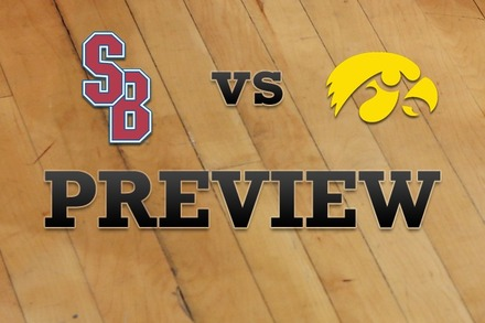 Stony Brook vs. Iowa: Full Game Preview
