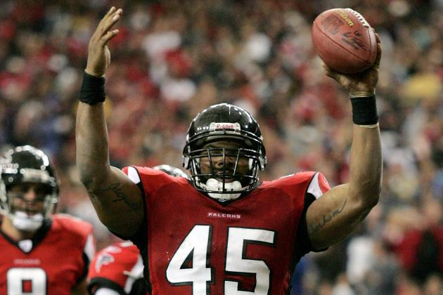 Former Falcon TJ Duckett Thankful for His Atlanta Start