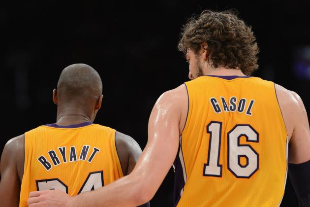 Gasol, Kobe Expected to Play Against Wizards