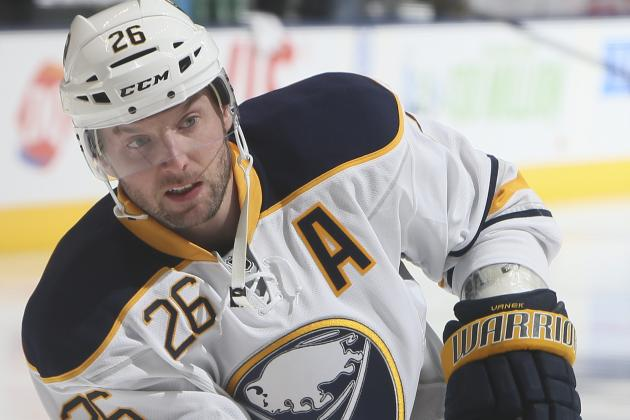 Sabres' Vanek Plans to Play Against Canadiens