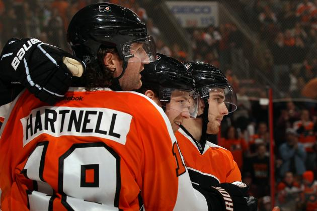 Scott Hartnell Understands Demotion from Flyers' First Line