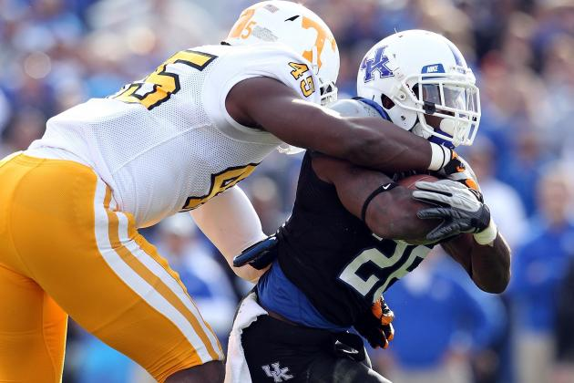 Tennessee Vols' A.J. Johnson Pushed for More