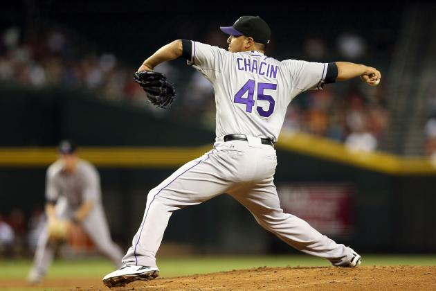 Rockies' Jhoulys Chacin Scratched from Friday's Start