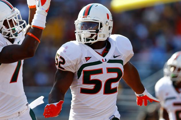 Miami's Perryman Looking to Stay Strong