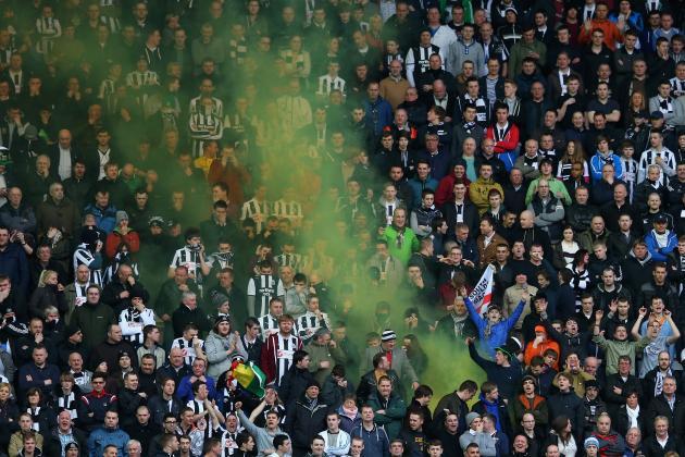 Newcastle Fans Disrupt Amateur Game