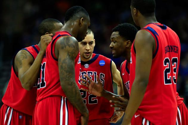 Ole Miss, Marshall Henderson Thinking Sweet Sixteen After Wisconsin Win