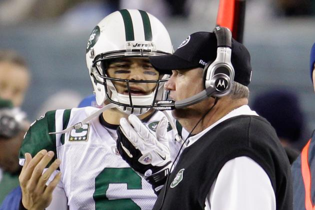 Rex Ryan Has No Gut Feeling About Who the Jets' QB Will Be