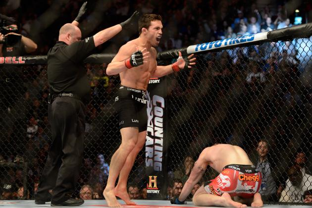 Chael Sonnen: Jake Ellenberger Should Be Fighting GSP Instead of Johny Hendricks