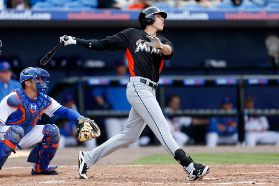 Top Prospect Yelich to Start Season in Minors