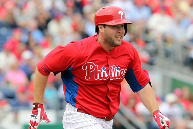 Philadelphia Phillies Playing It Safe by Sending Darin Ruf to Triple-A