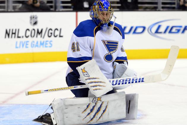 Halak Eager to Reassert Place as No. 1 Goalie
