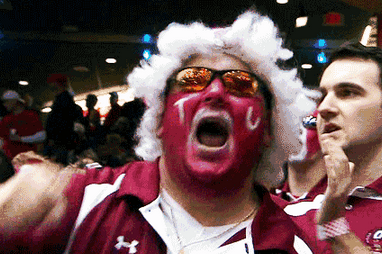 GIF: Temple Fan Is Jacked Up and We Feel the Same