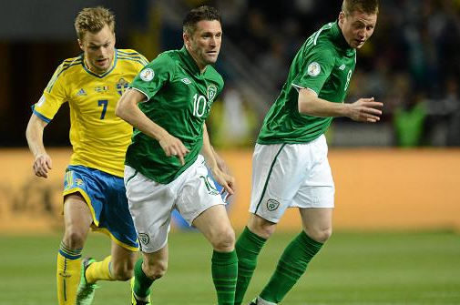 Sweden 0 Republic of Ireland 0