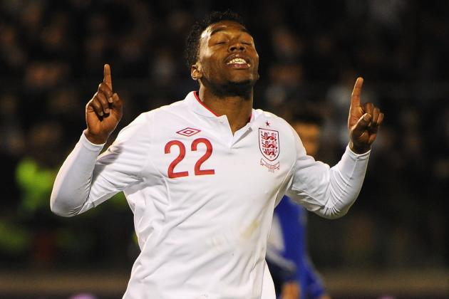 Sturridge Bags First International Goal