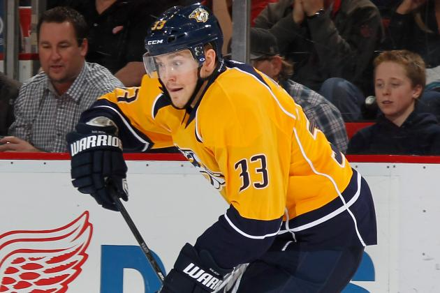 Predators' Colin Wilson Cautious with Injury