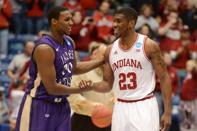 Second Round: Hoosiers Slam Dunk James Madison