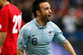 Mathieu Valbuena Excels as France Beat Georgia to Leapfrog Spain