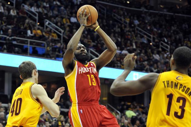 NBA Gamecast: Cavs vs. Rockets