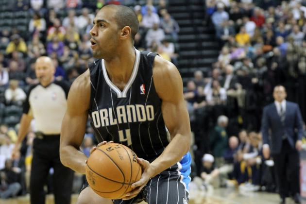 Afflalo out for Rest of Game vs. Thunder Due to Hamstring Injury