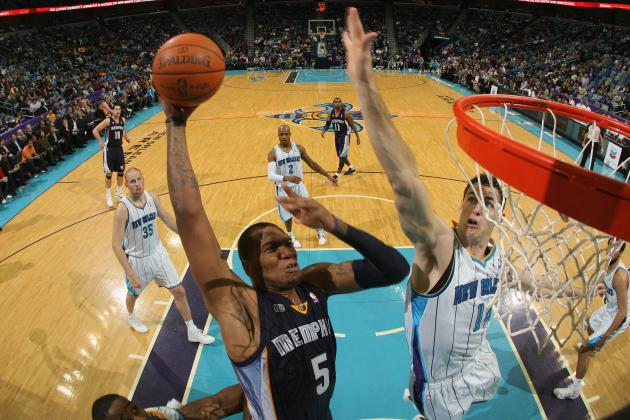 NBA Gamecast: Grizzles vs. Hornets