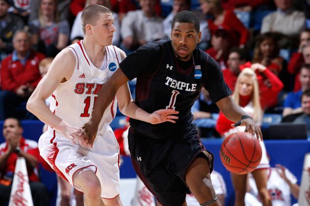 NCAA Tournament 2013: Temple Owls Move Past NC State Behind Wyatt's Big Day