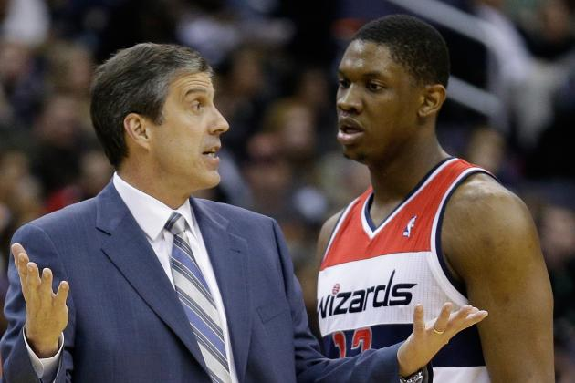 Nene Is Banged Up, so Kevin Seraphin Is Getting His Chance