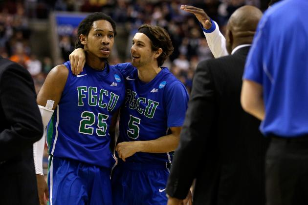 Twitter Reacts as FGCU Knocks No. 2 Seed Georgetown out of Tournament