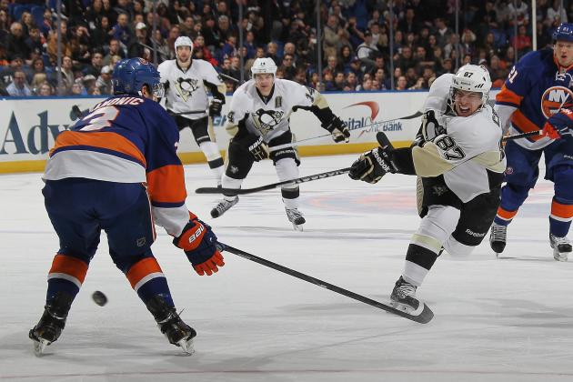 Penguins 4, Islanders 2