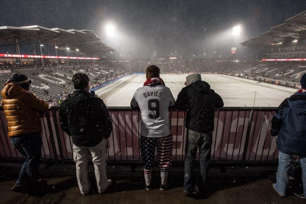 USA vs. Costa Rica Photo Gallery: Snow Falls as USMNT Win in Wintry Denver