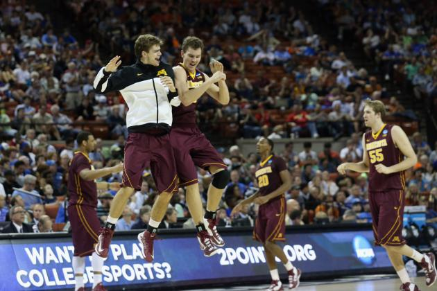 Minnesota Storms Past UCLA into Round of 32