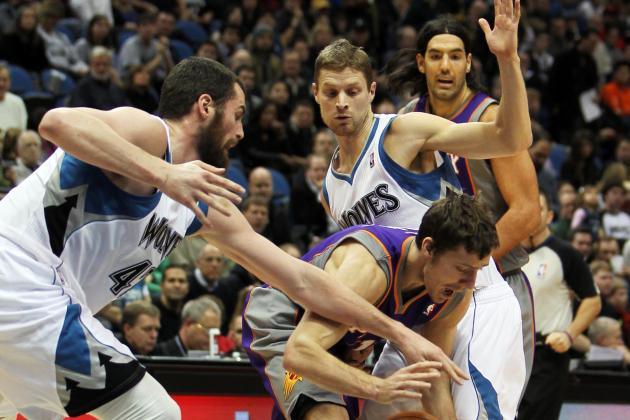 Wolves Rout Suns 117-86 to Snap 9-Game Road Skid