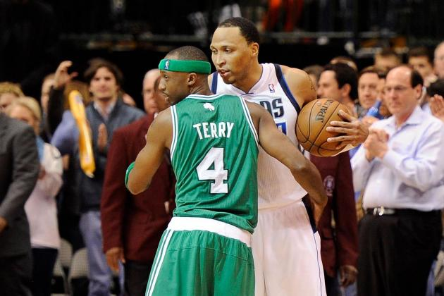 Celtics' Terry Back in Dallas for Reunion, Loss