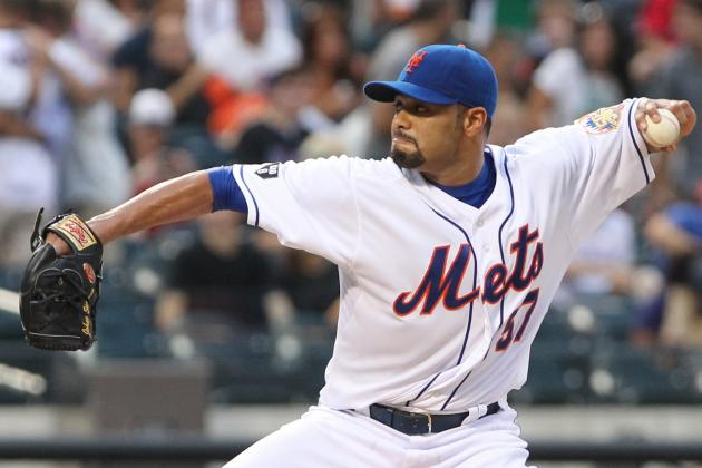 Johan Santana Isn't Sure When He'll Be Able to Pitch