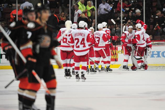 Red Wings Fly in to Face Some Tough Ducks