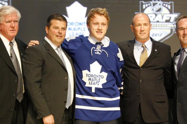 Toronto Maple Leafs Top Pick Morgan Rielly Scores in Debut with Marlies