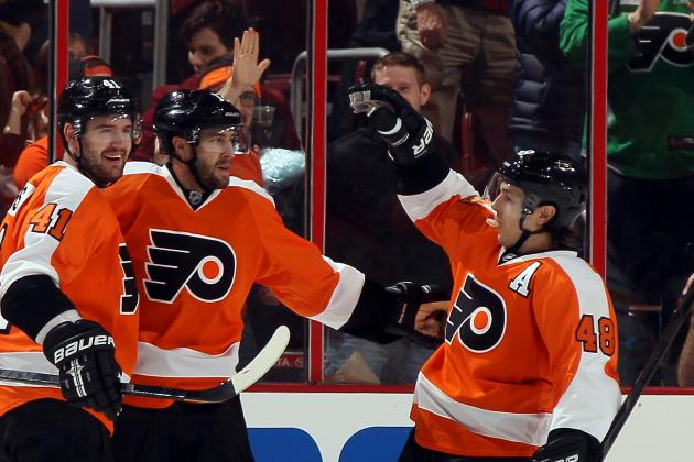 Flyers Need to Find Scoring Center