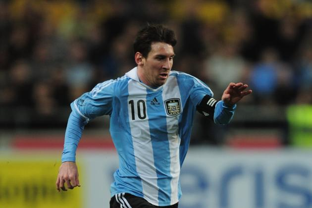 Grading Lionel Messi's Performance for Argentina vs Venezuela