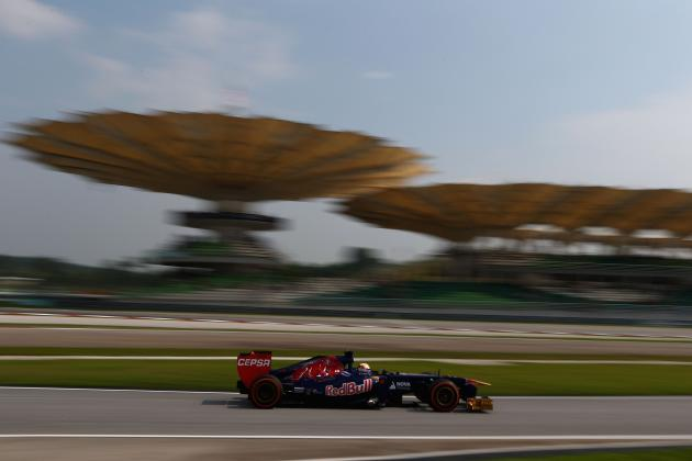 Malaysian Grand Prix 2013: Start Time, Lineup, TV Schedule and More