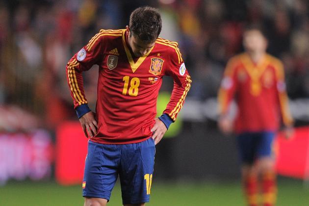 Jordi Alba Pulls Hamstring