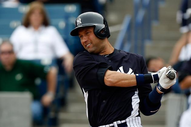 Jeter to DH in Minor League This Afternoon, Is Tired of Talking About Ankle