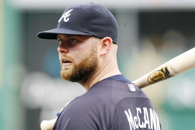 Brian McCann Could Miss All of April Rehabbing from Shoulder Surgery