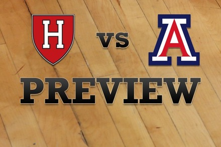 Harvard vs. Arizona: Full Game Preview