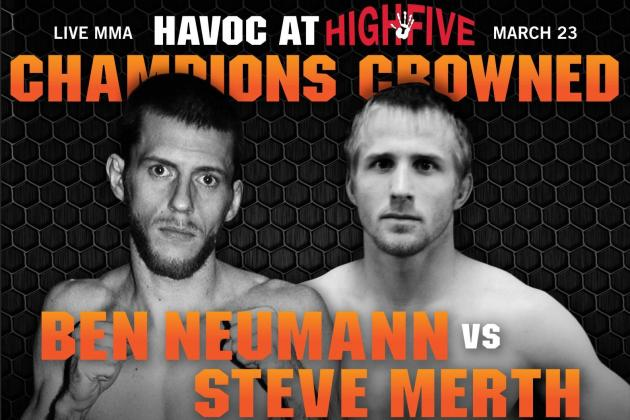 Free MMA Live Stream: Driller Promotions Havoc at High Five, Neumann vs. Merth