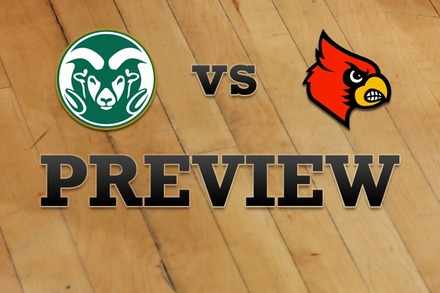 Colorado State vs. Louisville: Full Game Preview