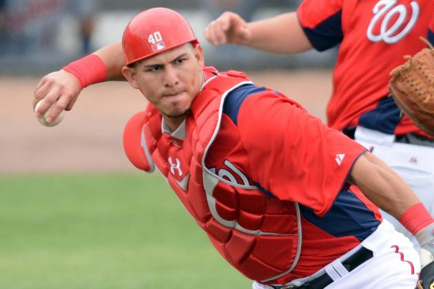 Nats Catchers Will Likely Split Job 50-50